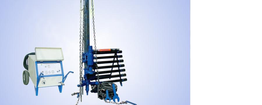 HSM400 Rotasyon ve İlerleme Hidrolik Sondaj Makinası